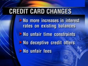 Feds Approve New Rules For Credit Cards