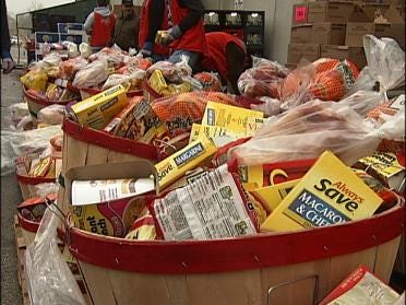 Tulsa's Salvation Army Begins Distributing Baskets