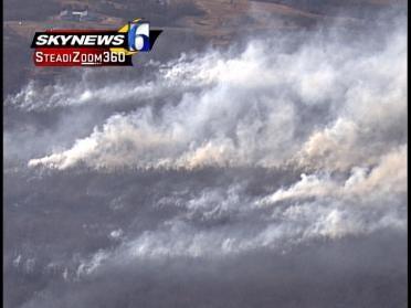 Numerous Grass Fires Pop Up Around Tulsa