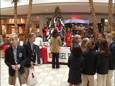 Students Work Hard To Benefit Angel Tree
