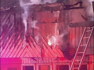Fire Breaks Out At East Tulsa Apartment Complex