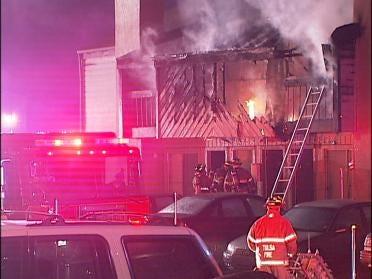 Cigarette Causes Tulsa Apartment Complex Fire
