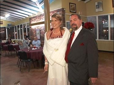 Couple Exchanges Vows, Helps Homeless