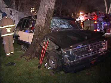 Tulsa Driver Wipes Out In Midtown