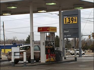 Gasoline Prices Back Down