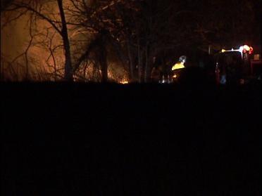 Investigating Overnight Sperry Grass Fire