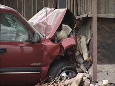 Woman Hurt When SUV Crashes Into Her Bedroom