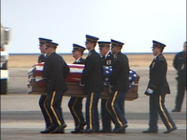 Coweta Soldier's Final Trip Home