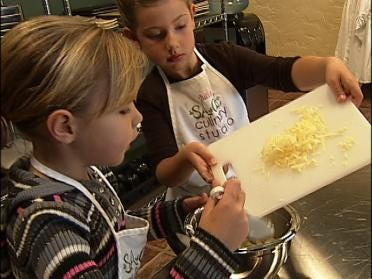 Kids Cooking At Tulsa Culinary School