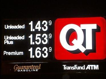 Gasoline Prices Move Lower