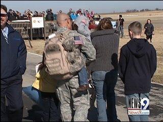 Deployed Airmen Return To Oklahoma