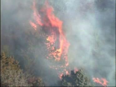Fire Closes I-35 Near Edmond