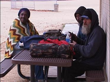 Mission Helping Homeless When Temperature Dips