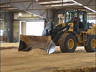 Construction On Fairgrounds Behind Schedule