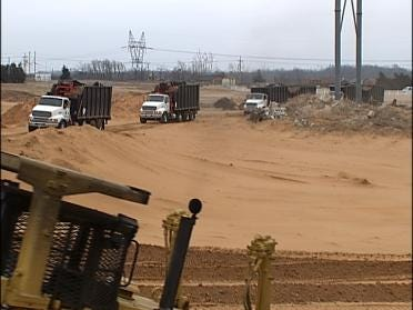 Mountain Of Mulch To Move From Park