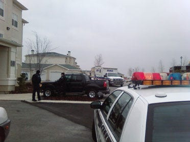 Standoff Ends With Man Wounded