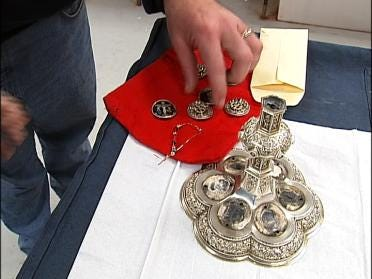 Company Works On The Pope's Chalice
