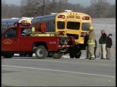 Students Injured In Bus Crash