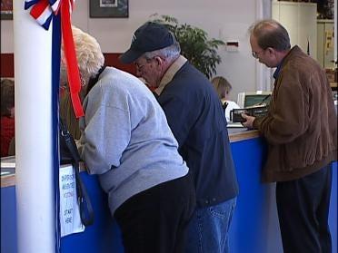 Absentee Voting In Full Swing
