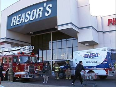 Reasor's Store Gets Unwanted Visitor