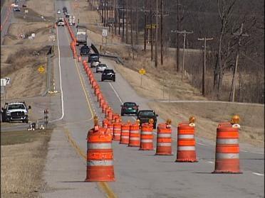 Highway 66 Bridge Work