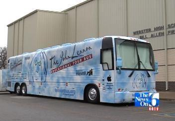 John Lennon Bus Puts Tulsa Talent In The Spotlight