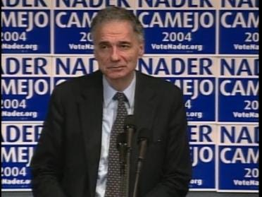Nader Takes Another Shot At Presidency
