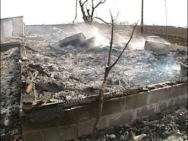Church Burned To The Ground