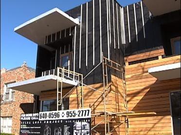Loft Goes Green On Cherry Street