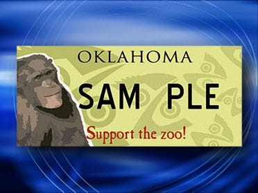 Tulsa Zoo License Plates