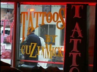Two Shot At Tattoo Parlor