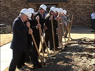 Groundbreaking For University Expansion