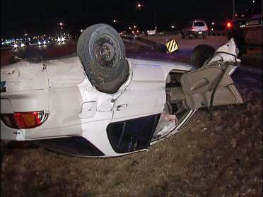 Traffic Accidents Keep Police Busy