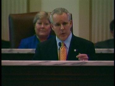 Governor Gives State Of The State Speech