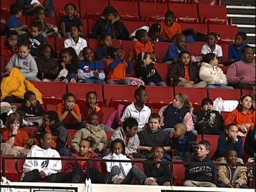 Oilers Host Students For A Special Game