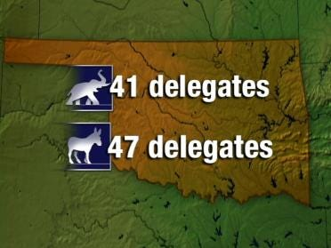 Presidential Candidates Out For Delegates