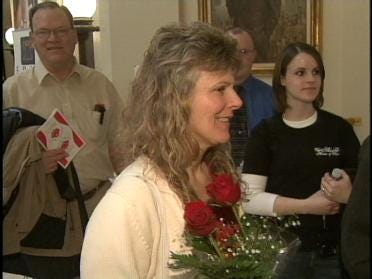 Rose Day Rally Demonstrates In OKC