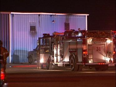 Officials Investigate Business Fire