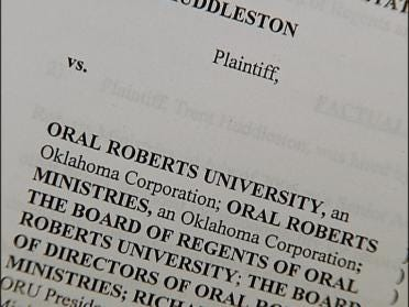ORU Faces Explosive Charges