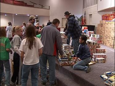 School Collects Three Tons Of Food For John 3:16
