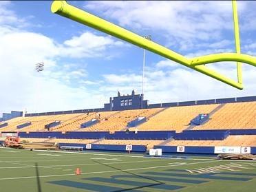 New Look Chapman Stadium Taking Shape