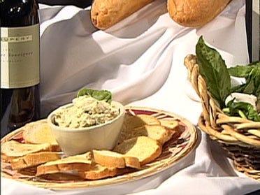 Pesto Cream Cheese Spread
