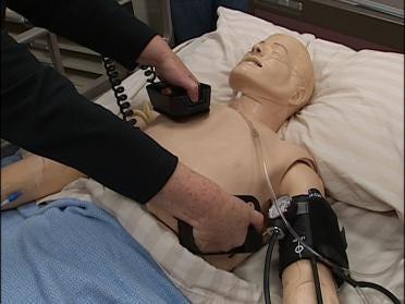 Robot Gives Nursing Students A Leg Up