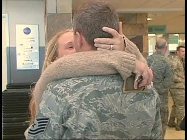 Airmen Welcomed Home From Iraq