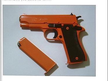 Painted Guns Worrying Authorities