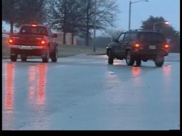 Road Crews Ready To Handle The Ice