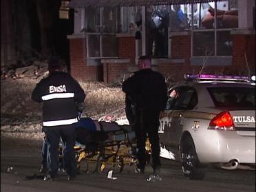 Police Officer Injured In Overnight Disturbance