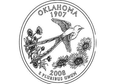 Mint Delivers New Oklahoma Quarter