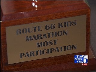 Route 66 Marathon Is Great Success