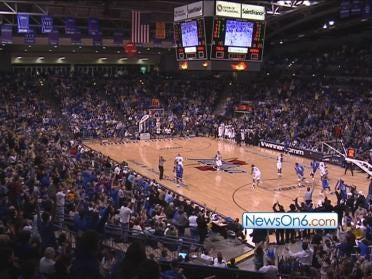 Attendance Down, Spirit Up at TU's Reynolds Center